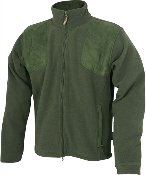 Pyke Of England Shires Fleece Jacket - Hunters Green